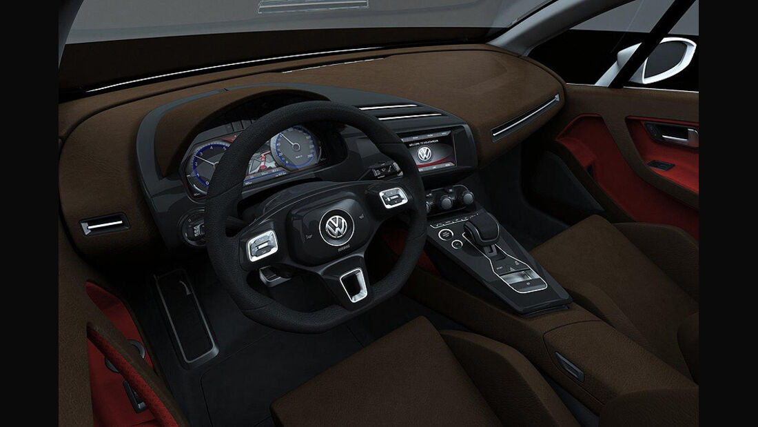 Giugiaro VW Tex Cockpit
