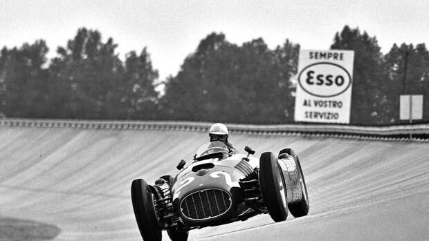 Giuseppe Farina - Ferrari D50 - Monza 1955