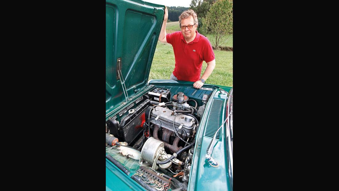 Glas 1700, Motor, Alf Cremers