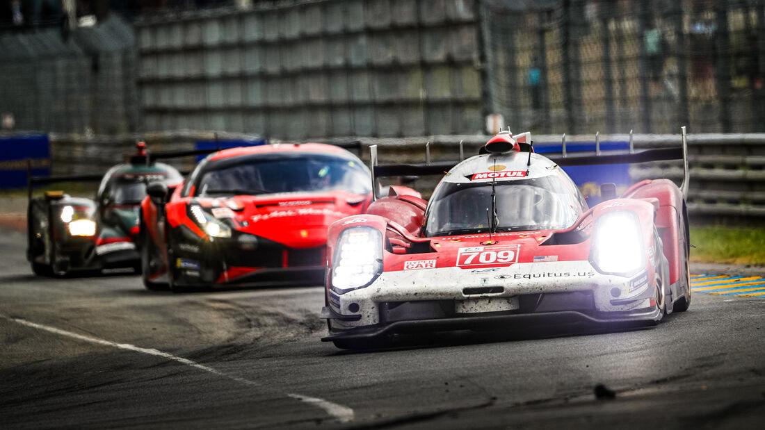 Glickenhaus 007 LMH - Startnummer #709 - Hypercar - 24h-Rennen Le Mans 2021