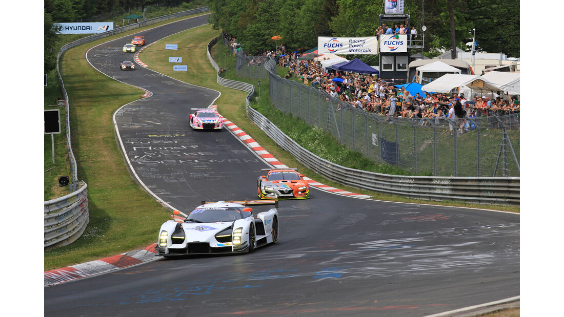 Glickenhaus SCG003c - 24h-Rennen Nürburgring - Nordschleife - Samstag - 12.5.2018