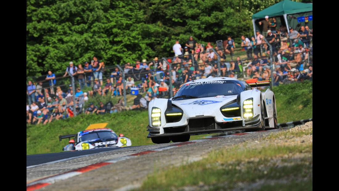 Glickenhaus SCG003c - Startnummer #705 - 24h-Rennen Nürburgring 2018 - Nordschleife - Samstag 12.5.2018
