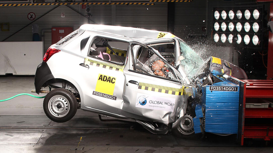 GlobalNCAP-Crashtest Datsun Go