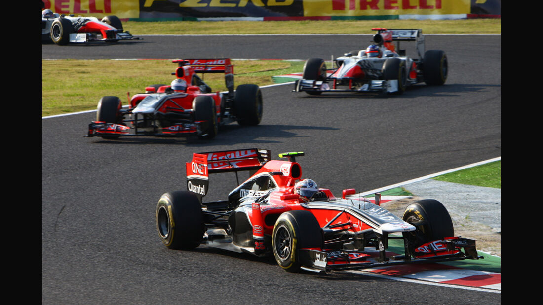 Glock D'Ambrosio Virgin GP Japan 2011