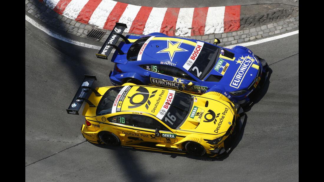 Glock & Paffett - DTM - Norisring 2016