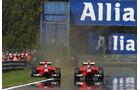 Glock & Pic - GP Belgien 2012