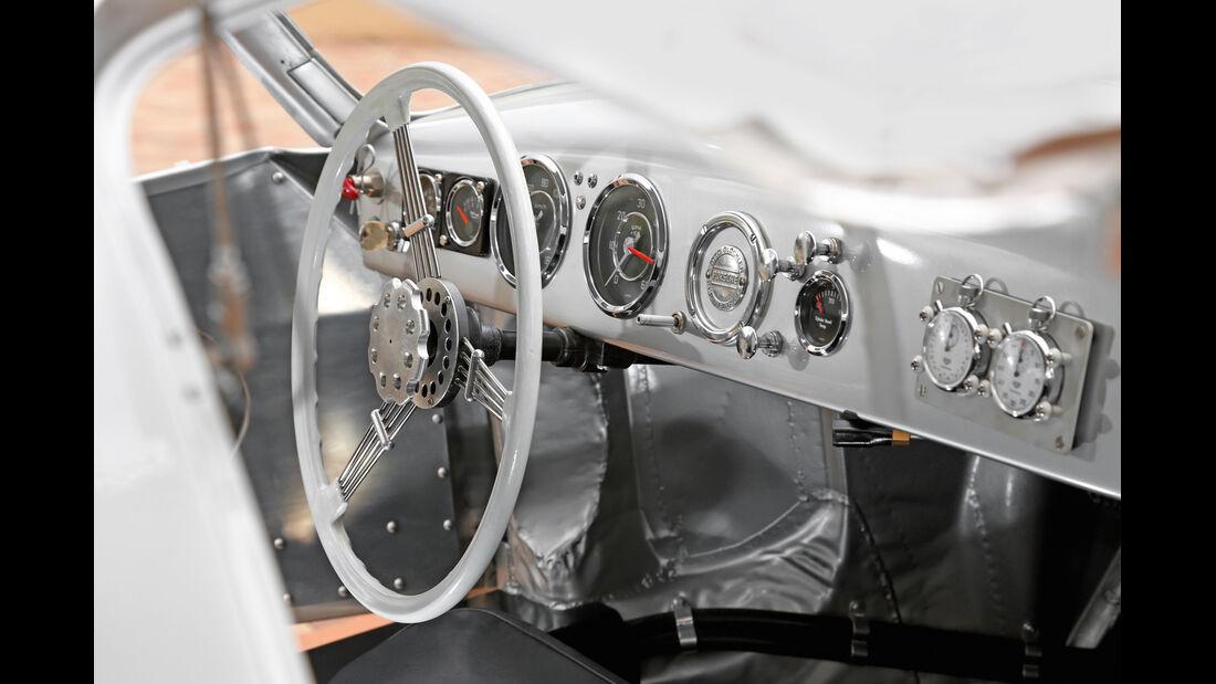 Glöckler-Porsche, Cockpit, Armaturenbrett