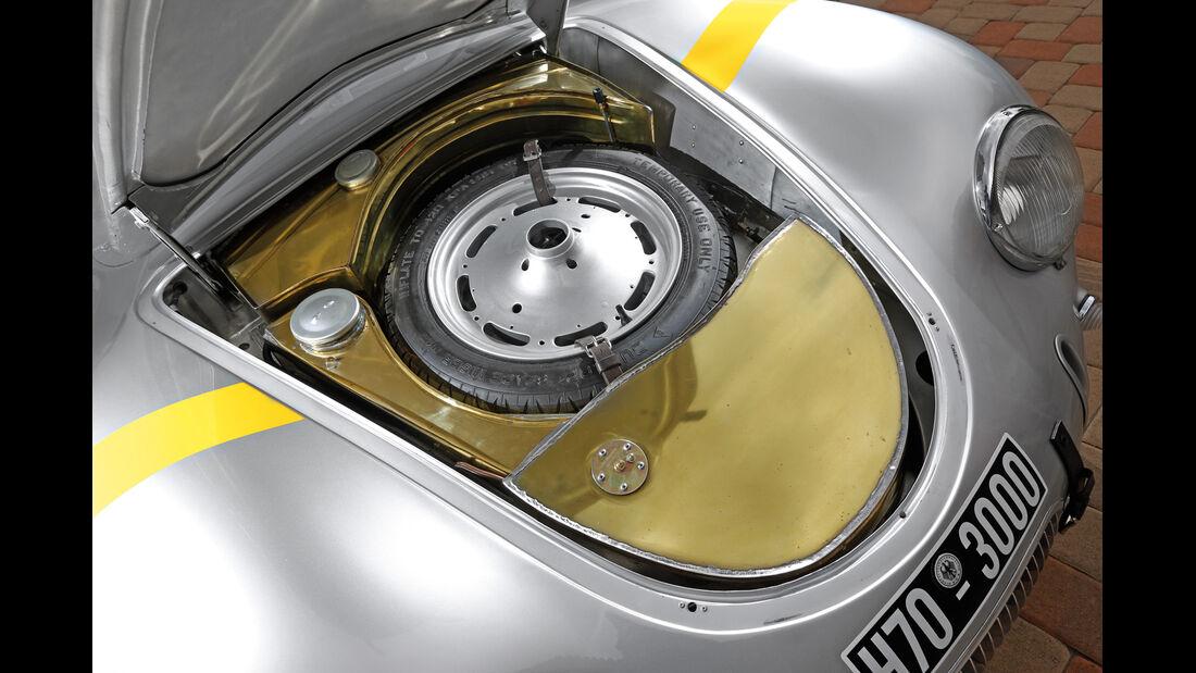 Glöckler-Porsche, Ersatzrad