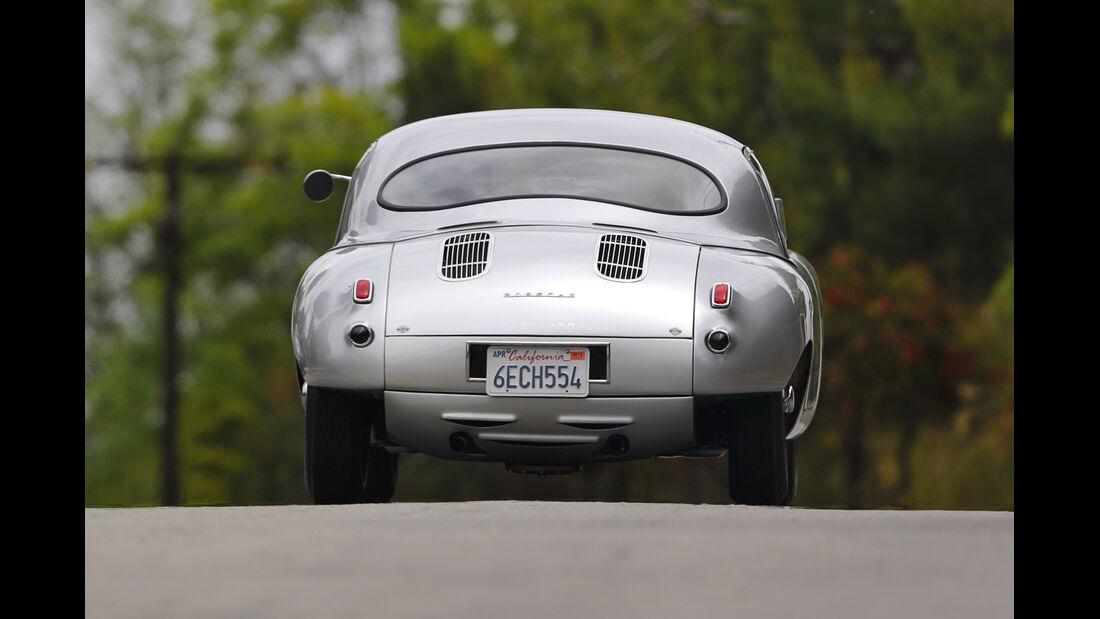 Glöckler-Porsche, Heckansicht