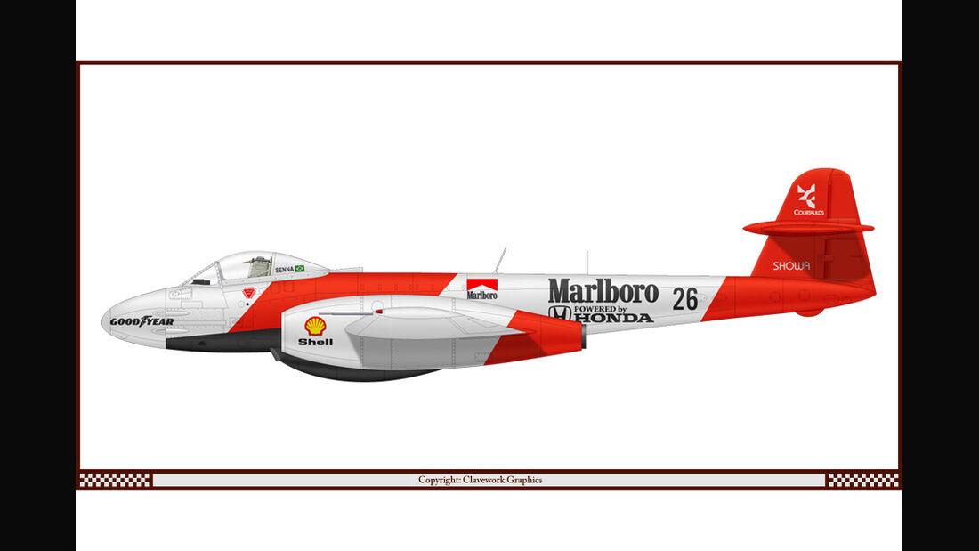Gloster Meteor - McLaren - Racing-Planes - 2015