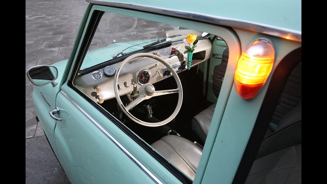Goggomobil, Blinker, Cockpit
