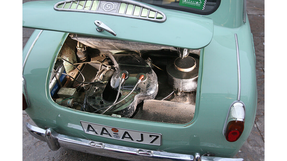 Goggomobil, Motor