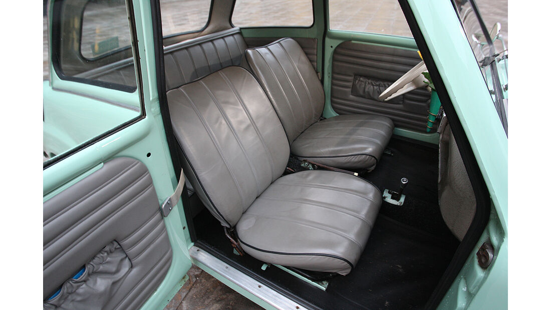 Goggomobil, Vordersitze