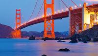 Golden Gate Bridge, Abendlicht
