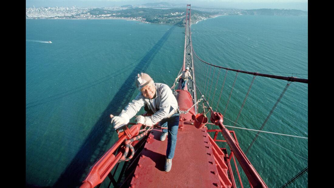 Golden Gate Bridge, Arbeiter