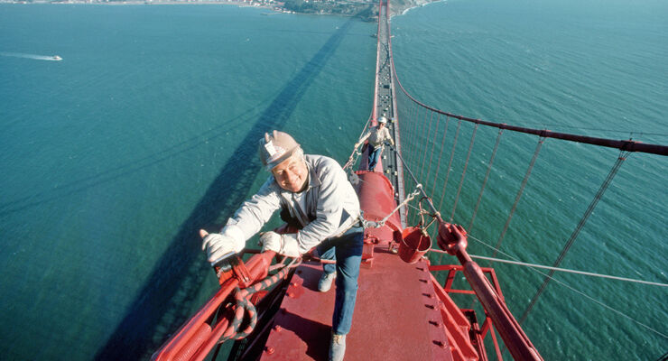 Golden Gate Bridge, Arbeiter
