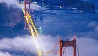 Golden Gate Bridge, Luftaufnahme