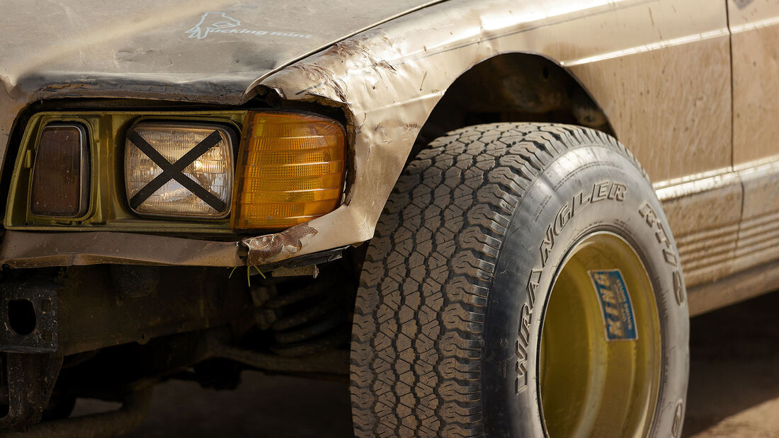 Golden_cedes Mercedes 300 SD Turbodiesel W 126 Offroad Umbau