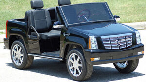 Golf Car Cadillac Escalade