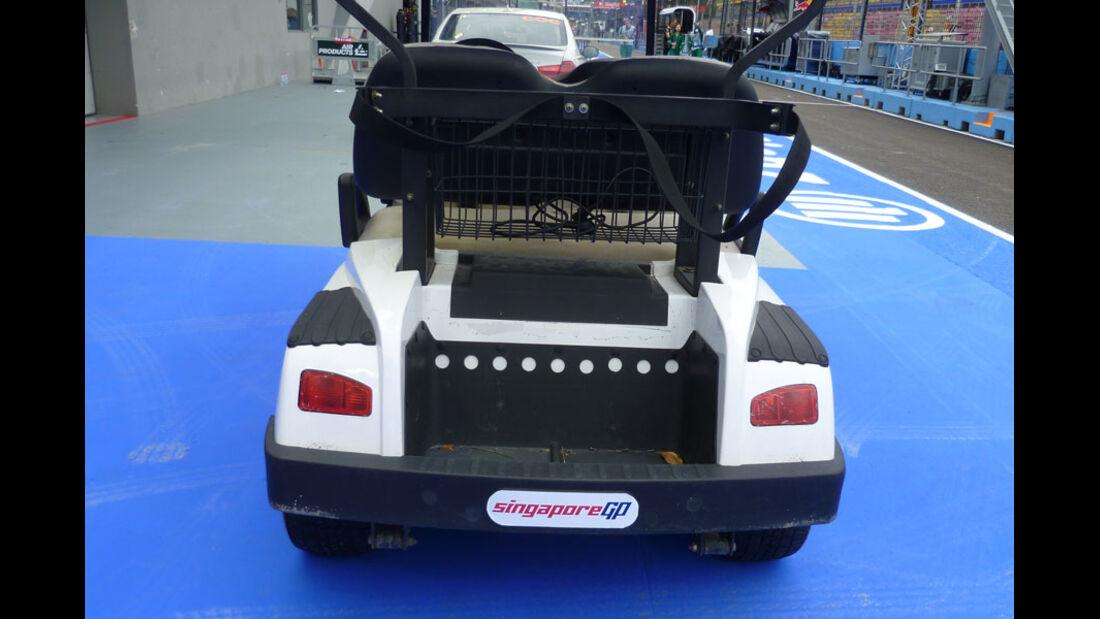 Golf-Cart - GP Singapur - 22. September 2011