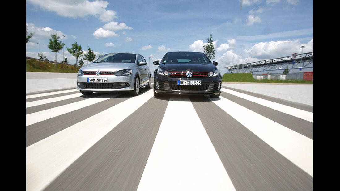 Golf GTI vs. Polo GTI