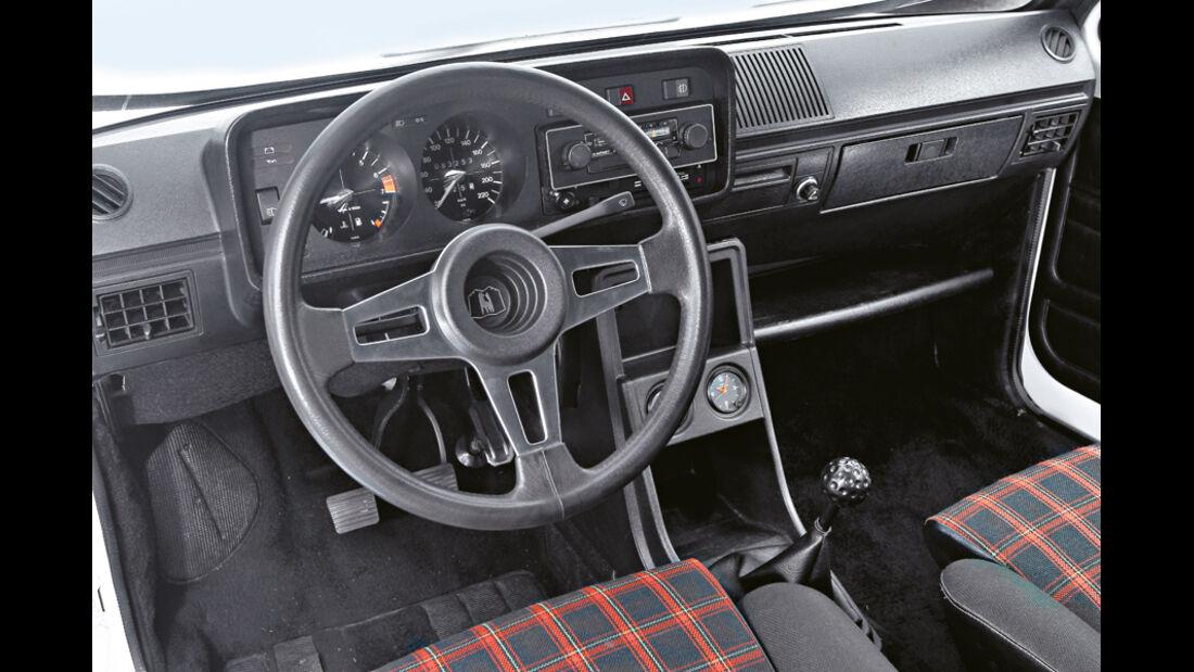 Golf I GTI, Cockpit