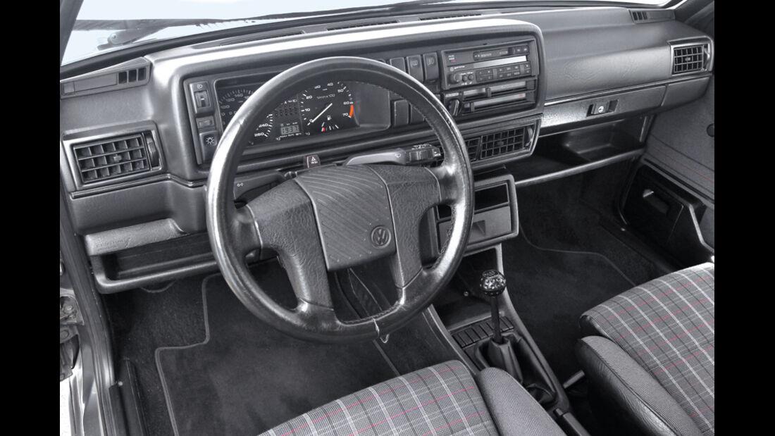 Golf II GTI, Cockpit