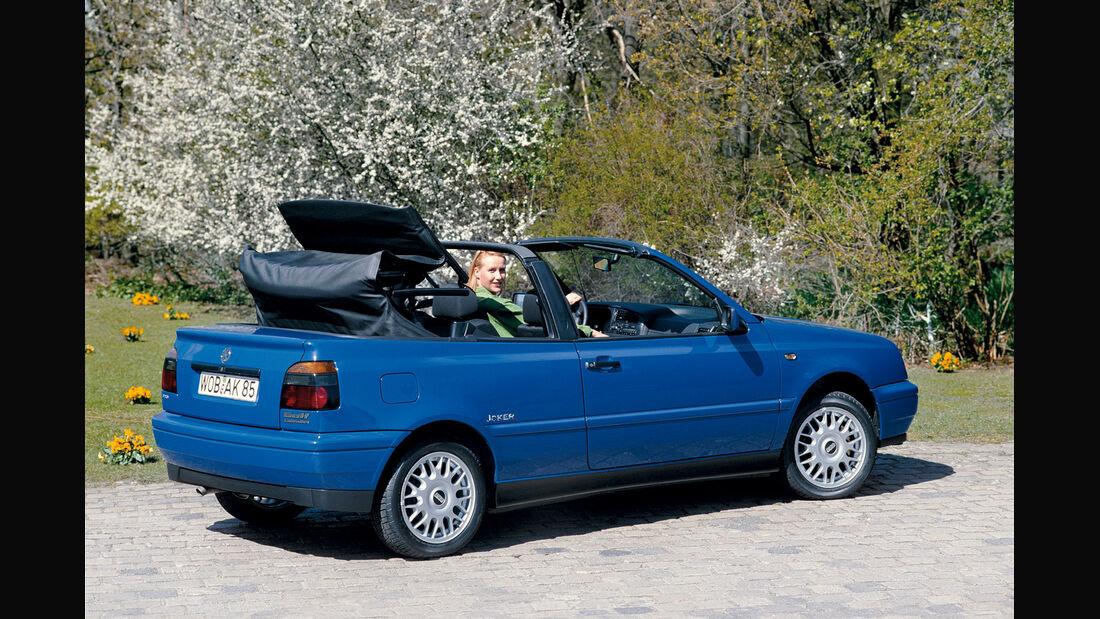Golf III Cabrio 1.6, Seitenansicht