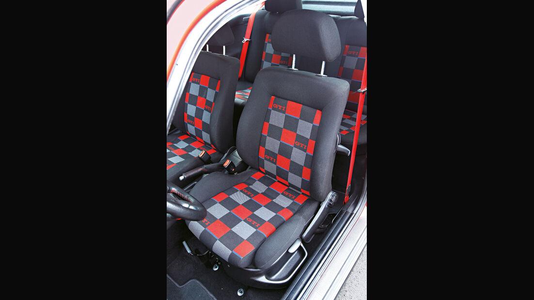 Golf III GTI, Sitz