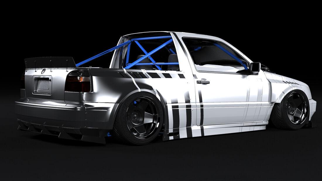 Golf III Render Design Concept