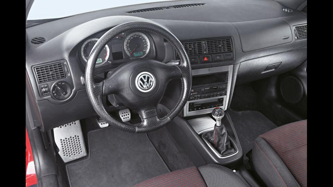 Golf IV GTI, Cockpit