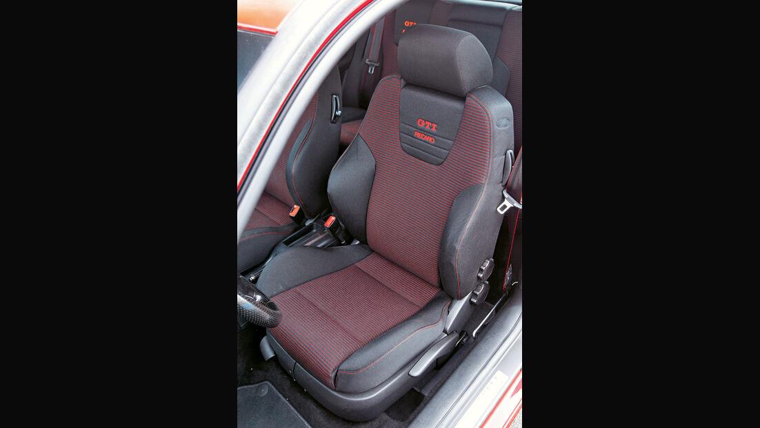 Golf IV GTI, Sitz