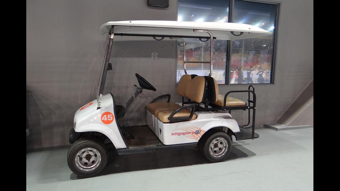 Golf-Kart - Formel 1 - GP Singapur - 20. September 2013