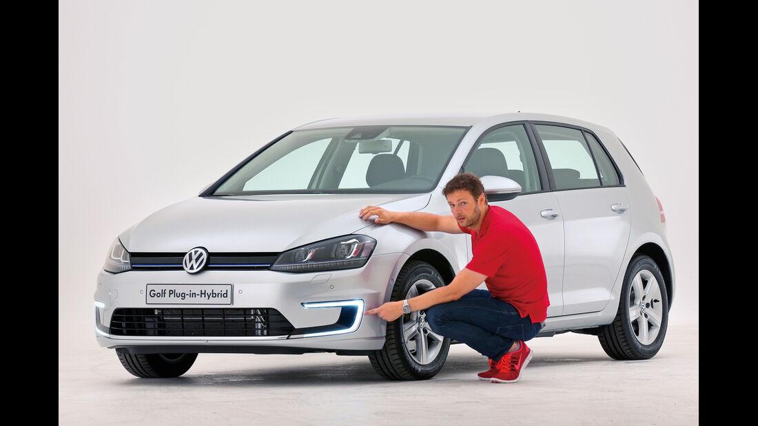 Golf Plug-in-Hybrid, Frontansicht