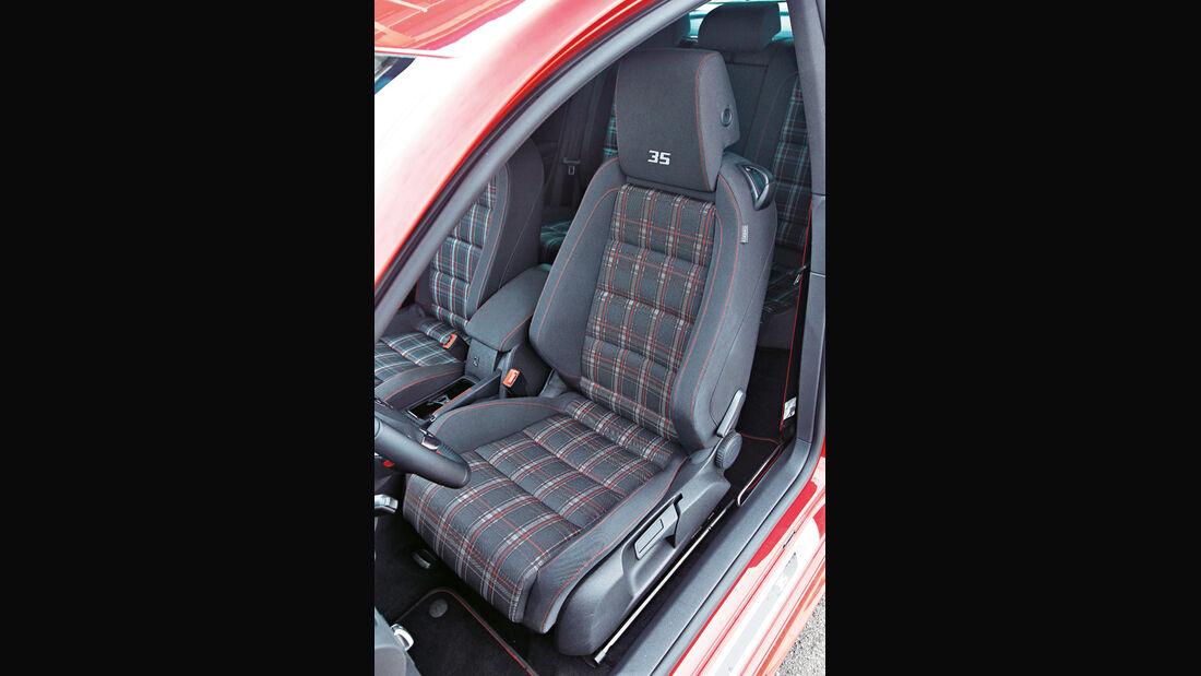 Golf VI GTI, Sitz
