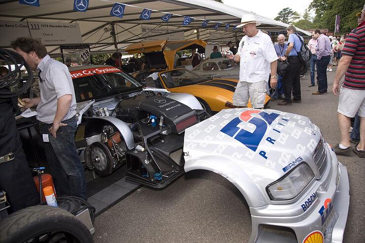Goodwood Festival of Speed 2010: Fahrerlager