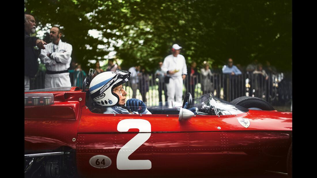 Goodwood Festival of Speed, John Surtees, Ferrari