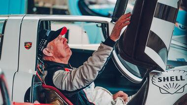 Goodwood Memebers Meeting Porsche 917-001 Richard Attwood