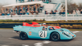 Goodwood Memebers Meeting Porsche 917 Kurzheck