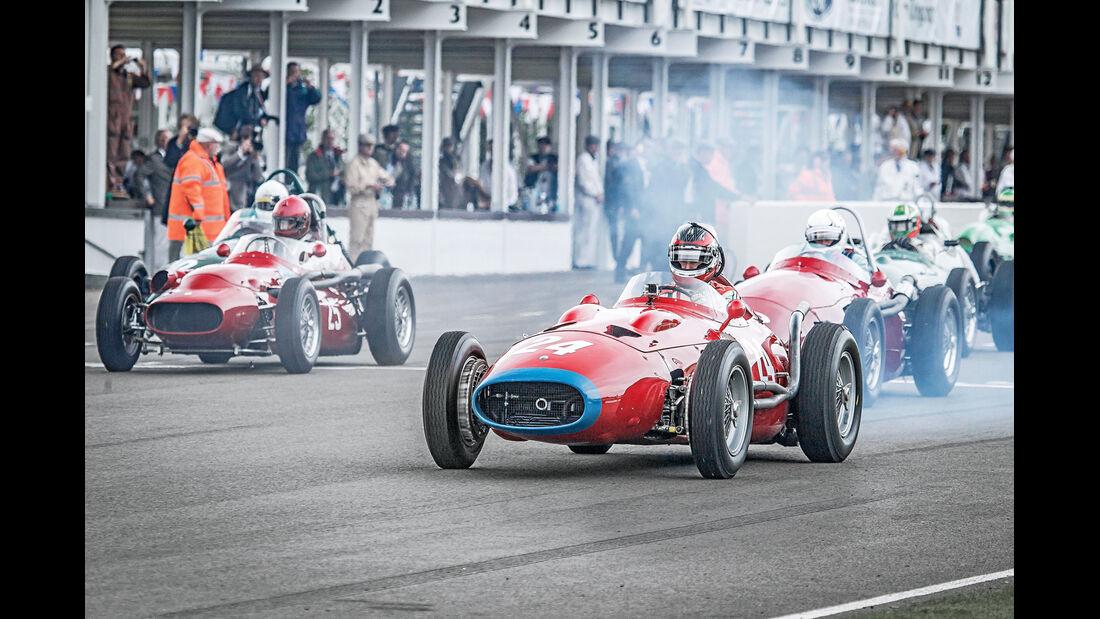 Goodwood Revival, Grand Prix-Rennwagen