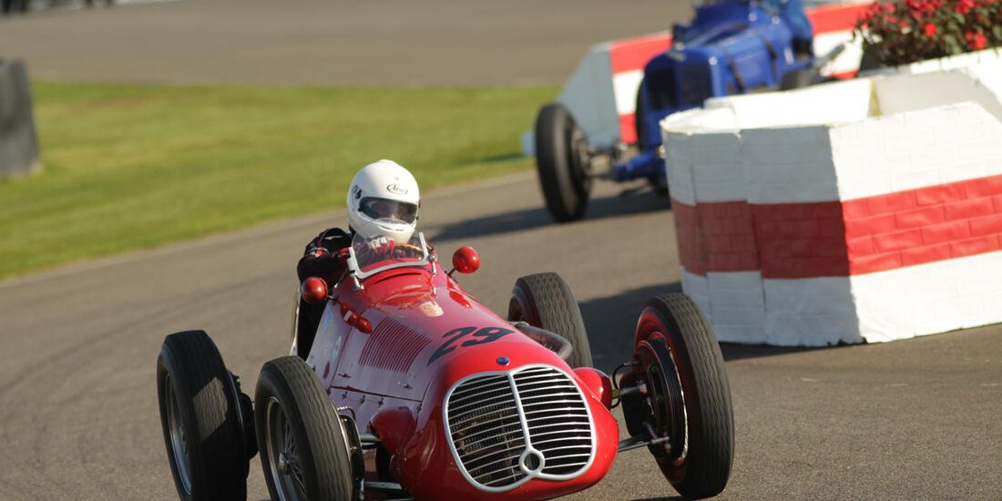 Goodwood Revival Meeting, Maserati, Dr. Klaus Lehr