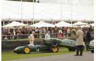 Goodwood Revival Meeting, Startunfall, GP-Wagen