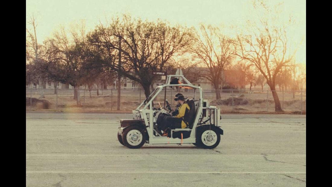 Google Car autonomous drive Prototype