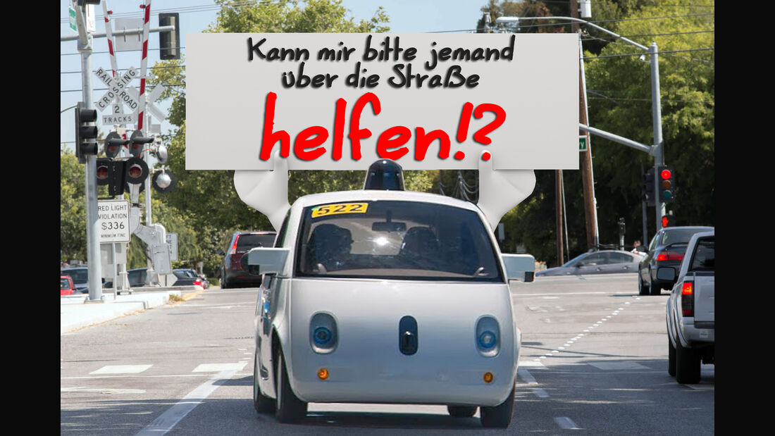 Google Car autonomous drive
