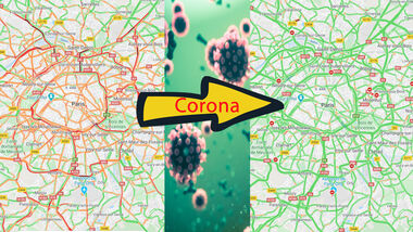 Google Maps Corona