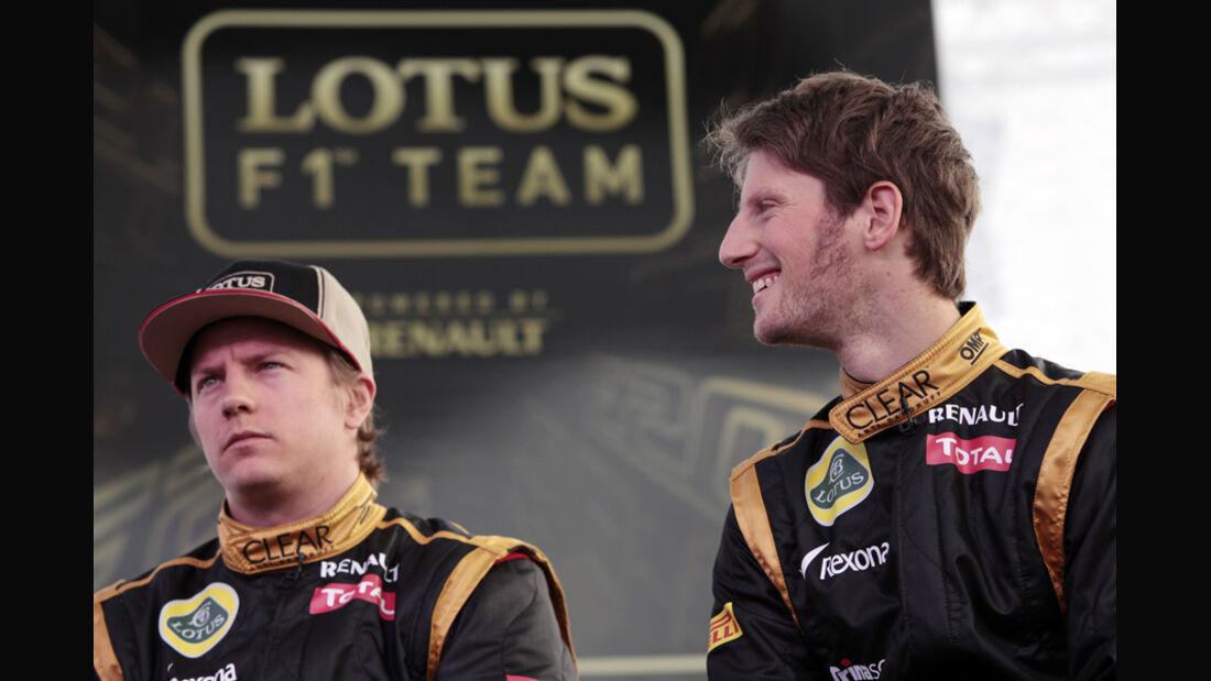 Gorsjean & Räikkönen - Lotus F1 Team 2012