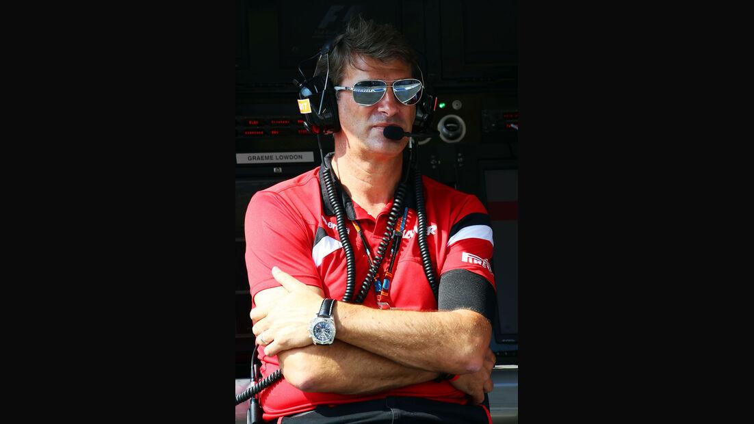 Graeme Lowdon - Manor F1 - GP Ungarn - Budapest - Freitag - 24.7.2015