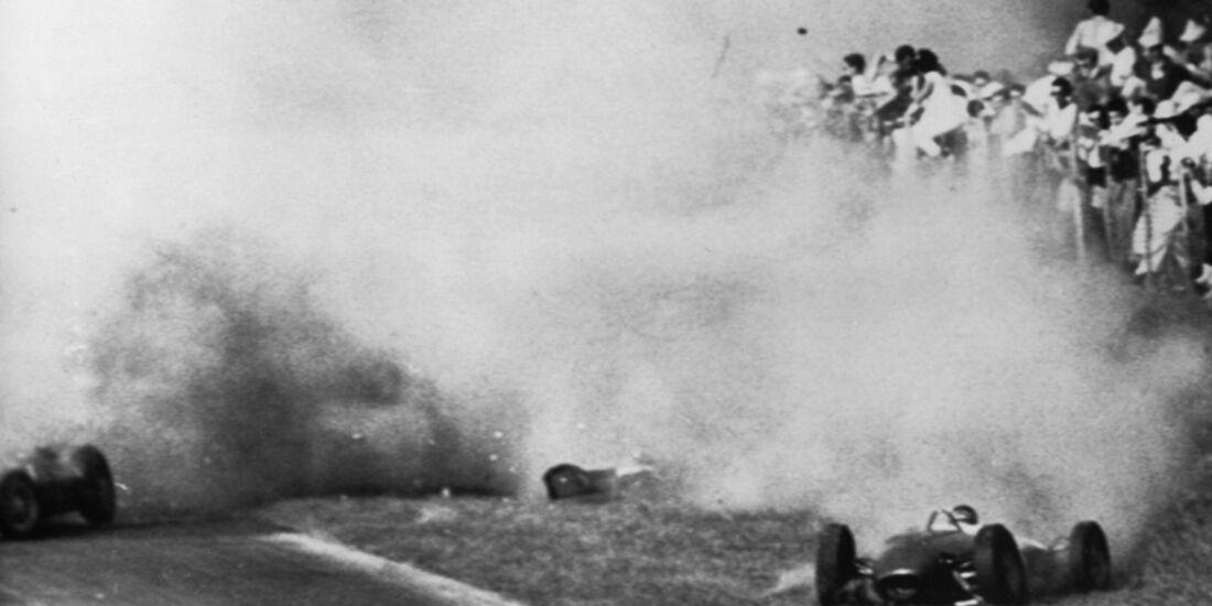 Graf Berghe von Trips Unfall 1961 Monza