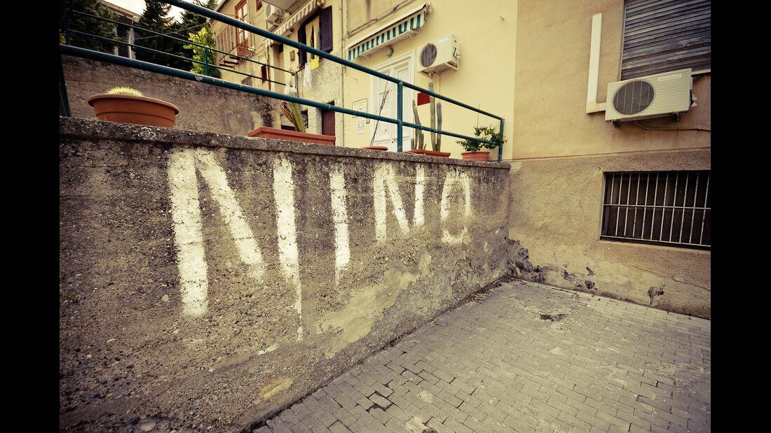 Graffiti, Parkplatz