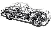 Grafik, Jaguar XK 150